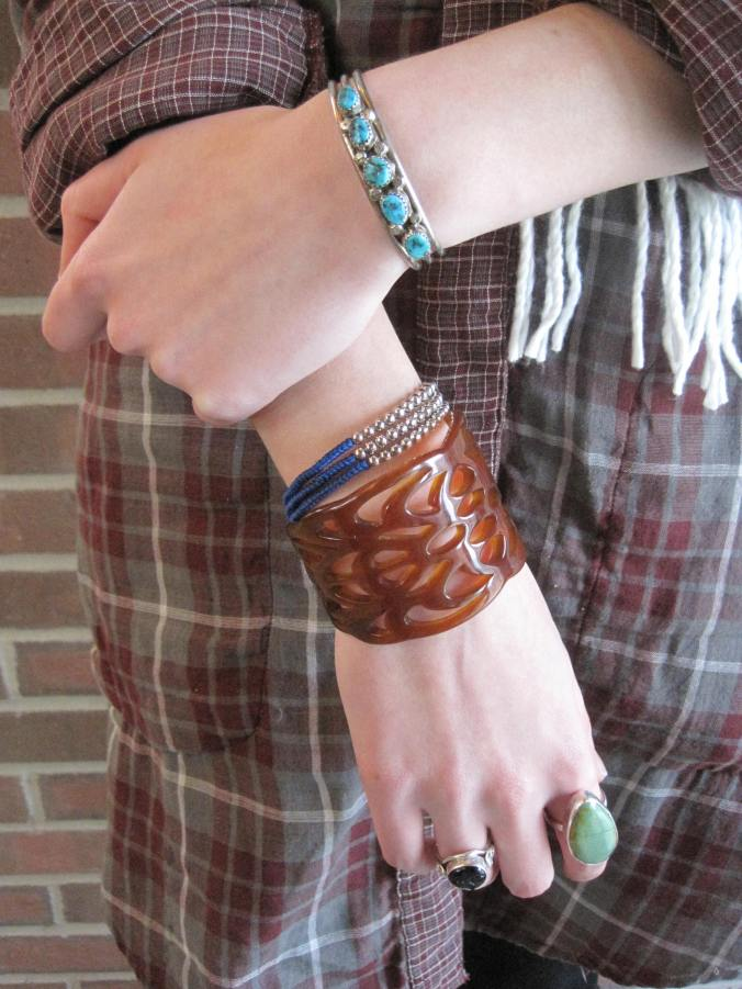 college campus street style bracelets