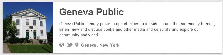 Geneva Public Library on Pinterest